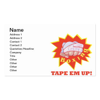 Tape Em Up Business Card Templates