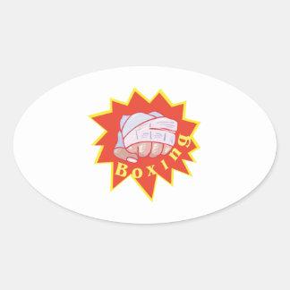 Tape Em Up Oval Stickers