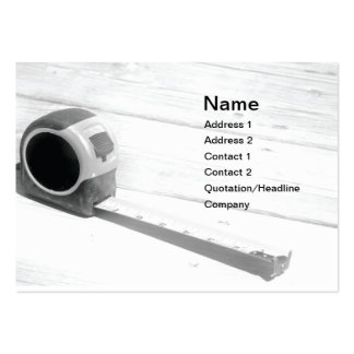 tape measure pack of chubby business cards