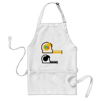 Tape measure standard apron