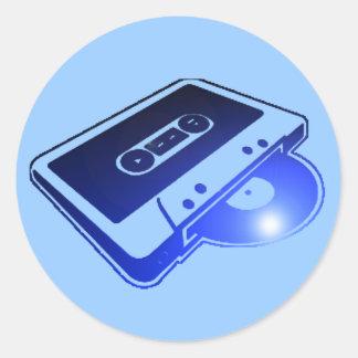 Tape n Record Sticker