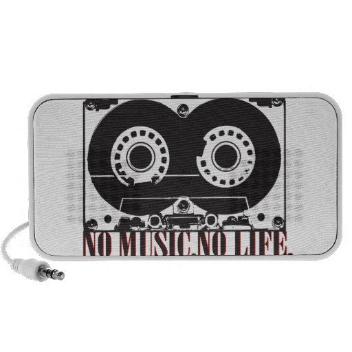 "TAPE ""NO MUSIC and NO LIFE. Travelling Speakers"