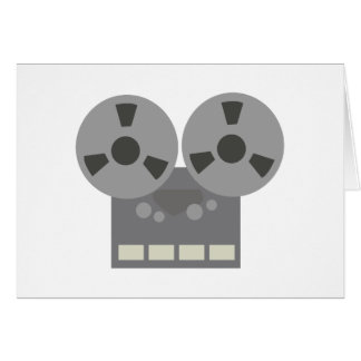 Tape Player Greeting Card