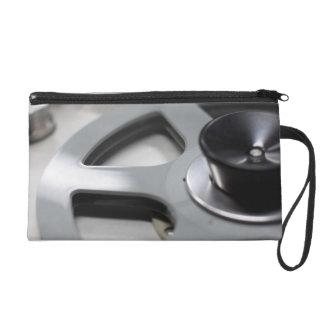 Tape Recorder Wristlet Clutch