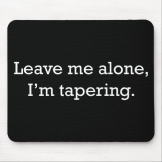Tapering Mouse Pad
