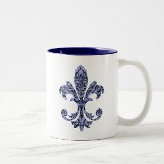 Tapestry Fleur de lis 1 Coffee Mug