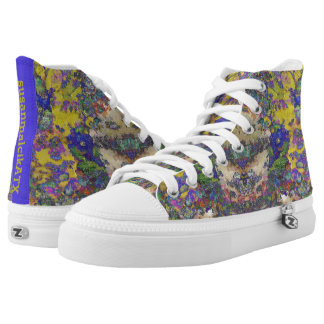 Tapestry for a Queen High Tops