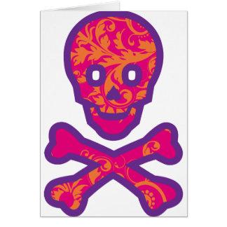 Tapestry Head Purple Card