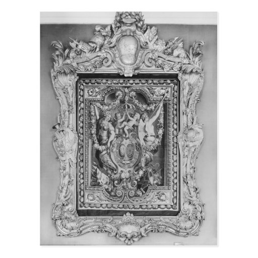 Tapestry of coat of arms of French Royal Family Postcards