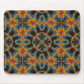 Tapestry pattern mouse pad