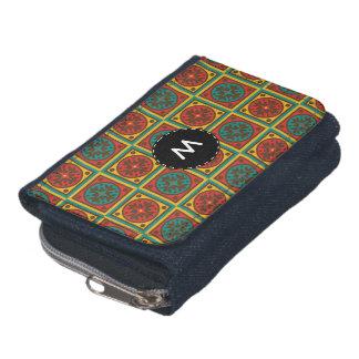 Tapestry pattern wallet