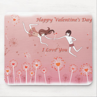 Tapete para rato Happy Valentine's Day Mousepads