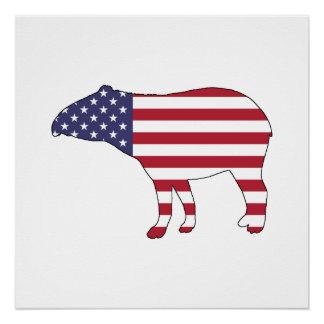 """Tapir """"American Flag"""""""