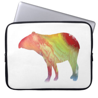 Tapir art laptop sleeve