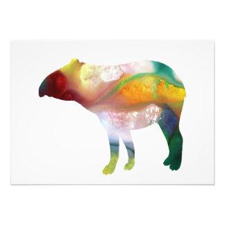 Tapir art photo