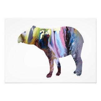 Tapir art photograph