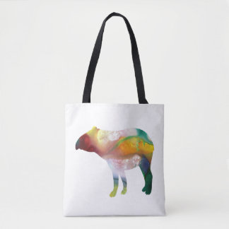 Tapir art tote bag