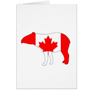 Tapir Canada Card