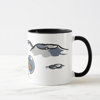 tapir in space mug