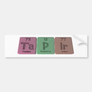 Tapir-Ta-P-Ir-Tantalum-Phosphorus-Iridium.png Bumper Sticker