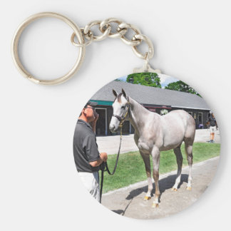 Tapit -Rote at Fasig Tipton Basic Round Button Key Ring