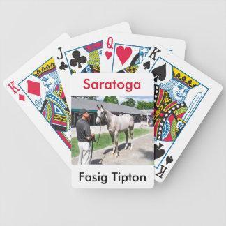 Tapit -Rote at Fasig Tipton Bicycle Playing Cards