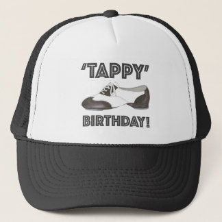 Tappy Happy Birthday Tap Dance Teacher Tapdance Trucker Hat