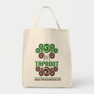 Taproot Organic Grocery Tote! Grocery Tote Bag