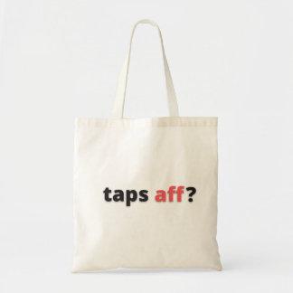 Taps Aff Tote Bag