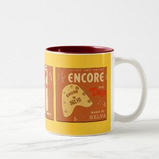 Taps Times Three Two-Tone Coffee Mug