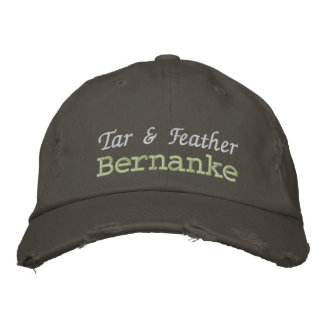 Tar & Feather Bernanke Embroidered Hat
