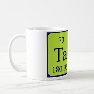 Periodic table coffee travel mugs zazzle au tara periodic table name mug urtaz Image collections