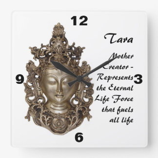 Tara Square Wall Clock