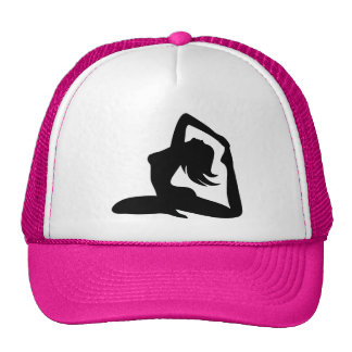 tara stiles yoga girl trucker hat