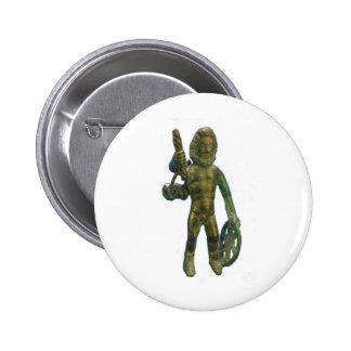 Taranis--Celtic god of thunder Pinback Buttons