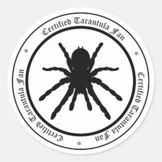 Tarantula Fan Sticker