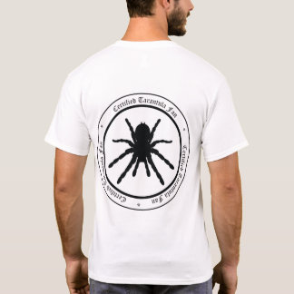 """Tarantula Fan"" T-shirt (back logo)"