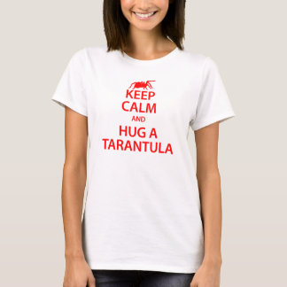 Tarantula Keep Calm T-shirt (White)