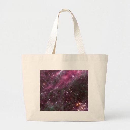 Tarantula Nebula Tote Bags