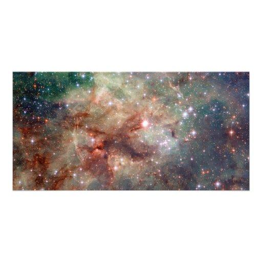 Tarantula Nebula Hubble Space Personalized Photo Card