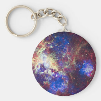 Tarantula Nebula Key Ring
