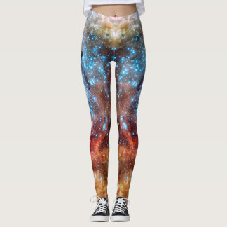 Tarantula Nebula Leggings
