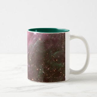 tarantula nebula Two-Tone mug