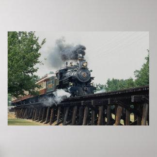 Tarantula Railroad Fort Worth Texas U S A Print