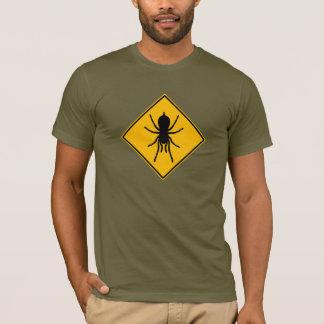 Tarantula roadsign T-shirt