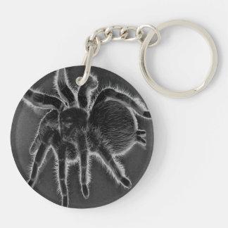 Tarantula Spider Goth keychain