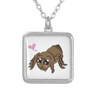 Tarantulove! Silver Plated Necklace