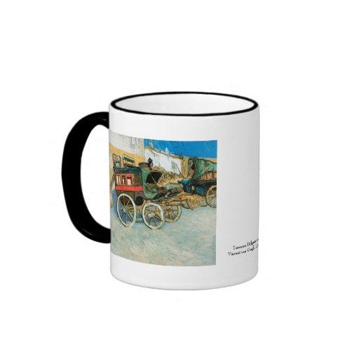 Tarascon Dilgence by Vincent van Gogh Coffee Mug