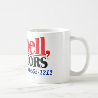 Tarbell Realtors personalized agent coffee cup