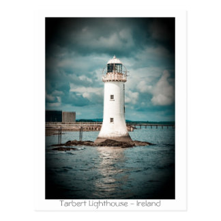 Tarbert Lighthouse Postcard
